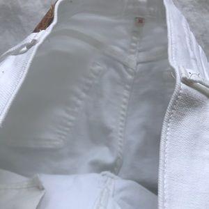 Levi's Shorts - Levi's white distressed shorts size 30
